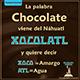 Xocolatl Agua Amarga