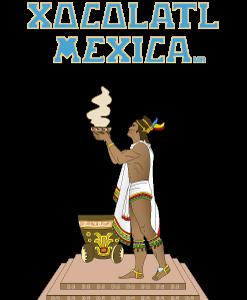 Logo Xocolatl Mexica