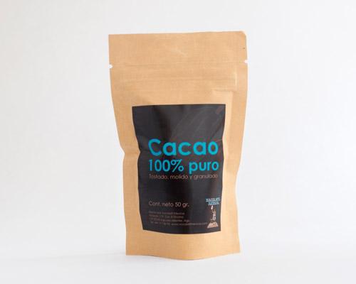 Cacao sin azúcar en polvo - Xocolatl Mexica