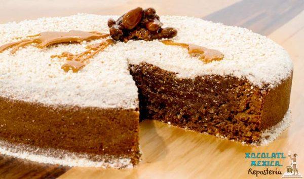 Pastel de Cacao - Xocolatl Mexica