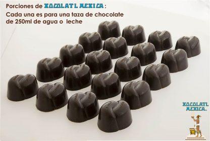 Porciones Xocolatl Mexica