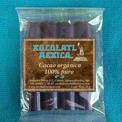 Cacao sin azúcar para comer