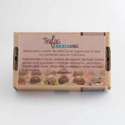 Trufas de chocolate - Xocolatl Mexica
