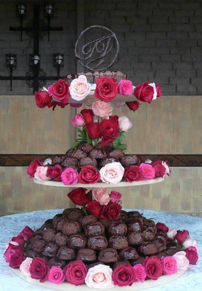 Pastel de chocolate para boda - Xocolatl Mexica