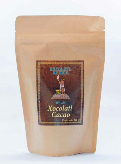Chocolate Cacao 120g - Xocolatl Mexica