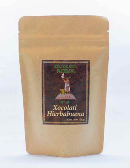 Chocolate Hierbabuena 120g - Xocolatl Mexica