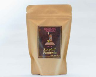 Chocolate artesanal con pimienta - Xocolatl Mexica